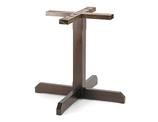521 M Base in legno per tavoli quadrati o rotondi   dim. base          75x75cm       dim.max piano   100x100cm - diam.120cm   altezza cm.72    peso kg. 14   completa di piedini regolabili