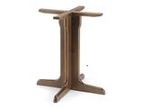 B501 Base in legno per tavoli quadrati o rotondi