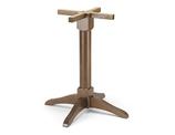 B505 Base in legno per tavoli quadrati o rotondi