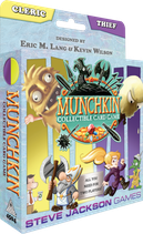 MUNCHKIN COLLECTIBLE CARD GAME CLERIC THIEF