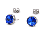 Titanohrstecker Sapphire