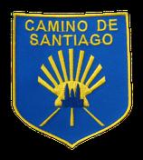 Aufnäher Wappen Camino de Santiago