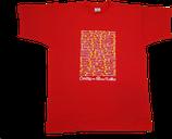 T-Shirt 'Pueblos del Camino' in rot