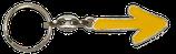keychain yellow arrow
