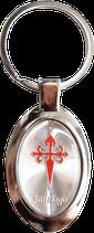 Schlüsselanhänger Jakobskreuz