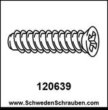 Schraube wie # 120639 - 2 Stück