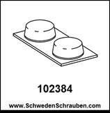 Dämpfer wie # 102384 - 4 Stück