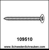 Schraube wie # 109510 - 4 Stück