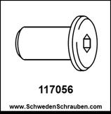 Schraubhülse wie # 117056 - 1 Stück