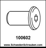 Schraubhülse wie # 100602 - 1 Stück