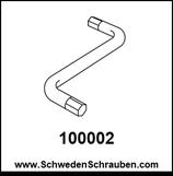 Inbus-Schlüssel wie # 100002 - 1 Stück