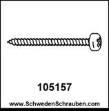 Schraube wie # 105157 - 4 Stück