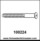 Schraube wie # 100224 - 4 Stück