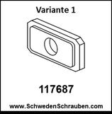 Unterlegscheibe wie # 117687 (Variante 1) - 1 Stück