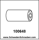 Schraubhülse wie # 100648 - 1 Stück