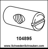 Quermutter wie # 104895 - 2 Stück