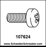 Schraube wie # 107624 - 2 Stück