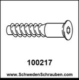 Schraube wie # 100217 - 4 Stück