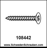 Schraube wie # 108442 - 4 Stück