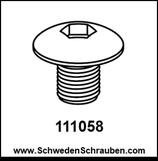 Schraube wie # 111058 - 1 Stück