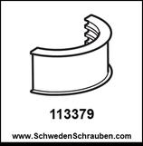 STOLMEN Halter - Abstand / Puffer - dick wie # 113379