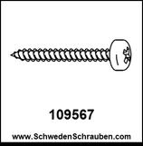 Schraube wie # 109567 - 4 Stück