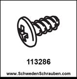 Schraube wie # 113286 - 2 Stück