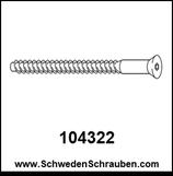 Schraube wie # 104322 - 2 Stück