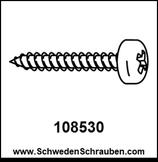 Schraube wie # 108530 - 4 Stück