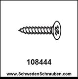 Schraube wie # 108444 - 4 Stück