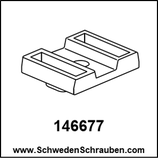Montageplatte wie # 146677 - 1 Stück