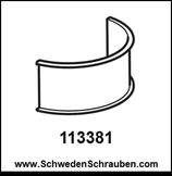 STOLMEN Halter - Abstand / Puffer wie # 113381