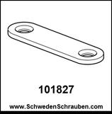 Montageplatte wie # 101827 - 1 Stück