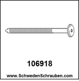 Schraube wie # 106918 - 2 Stück