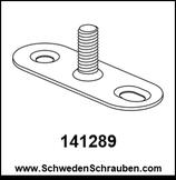 Montageplatte wie # 141289 - 1 Stück