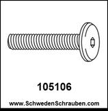 Schraube wie # 105106 - 1 Stück