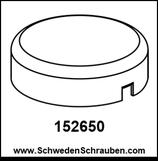 Wandbefestigung Abdeckung wie # 152650 - 1 Stück