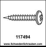 Schraube wie # 117494 - 2 Stück