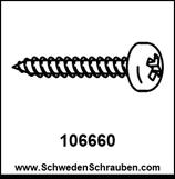 Schraube wie # 106660 - 4 Stück