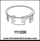 Abdeckkappe wie # 111208 - 1 Stück