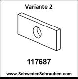Unterlegscheibe wie # 117687 (Variante 2) - 1 Stück