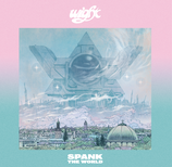 Spank The World LP blue marbled