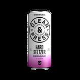Hard Seltzer Crushed Black Cherry
