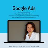 Teilnahme am Marketing Zoom: Google Ads