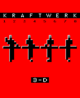 KRAFTWERK 3D 12345678  BLU-RAY / DVD SET