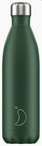 Chilly's Bottle matte green 750ml