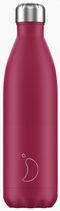 Chilly'y Bottle matte pink 750ml