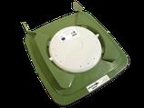Bio-Filterdeckel für 120 Liter Biotonnen (in grün)