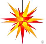 Herrnhuter Stern A7 für Außen 68 cm gelb/rot