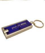 Schlüsselanhänger mit LED Taschenlampe